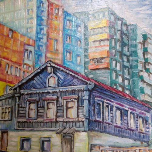 Картина На стыке веков Хабаровск