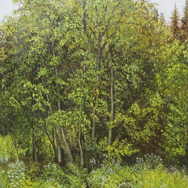 Картина Опушка леса
