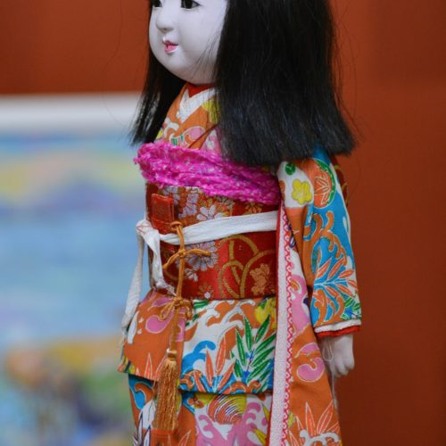 Кукла - девочка, фарфор, Япония, авторская кукла