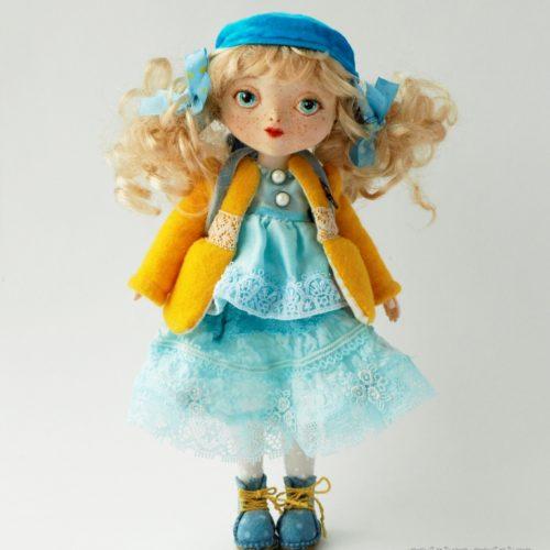 Авторская шарнирная кукла, полиуретан, авторская кукла.