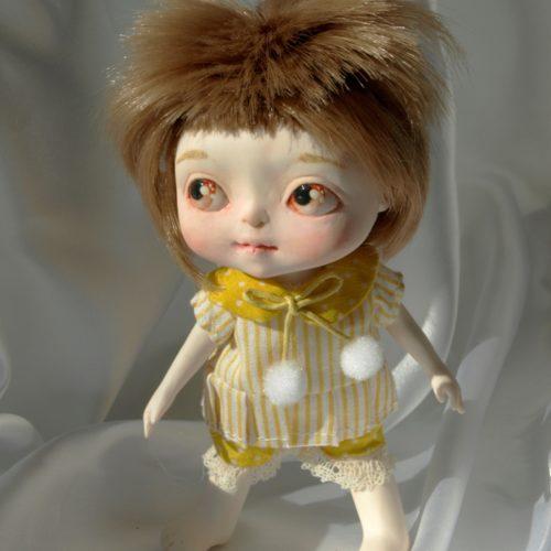 Кукла девочка, полиуретан, авторская работа, шарнирная кукла, игровая кукла