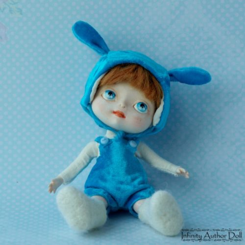 Кукла мальчик, полиуретан, авторская кукла, кукла игровая