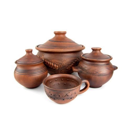 Художественная керамика, посуда