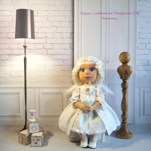 кукла Ангел, текстиль, ручная работа