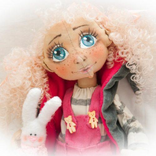 кукла текстильная, авторская работа