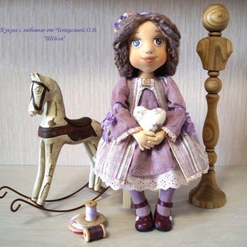 кукла Шейли, текстиль, ручная работа