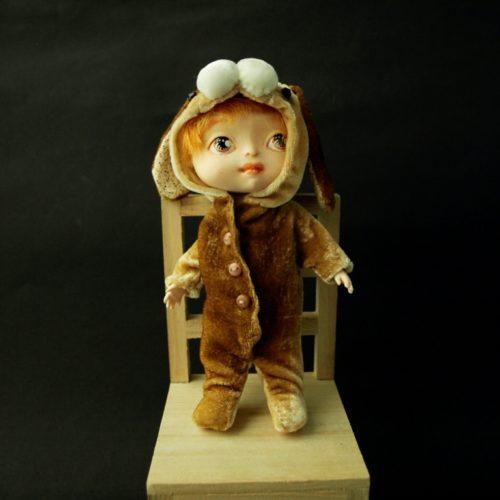 авторская кукла, полиуретан