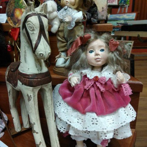 Варечка, полимерная глина, авторская кукла