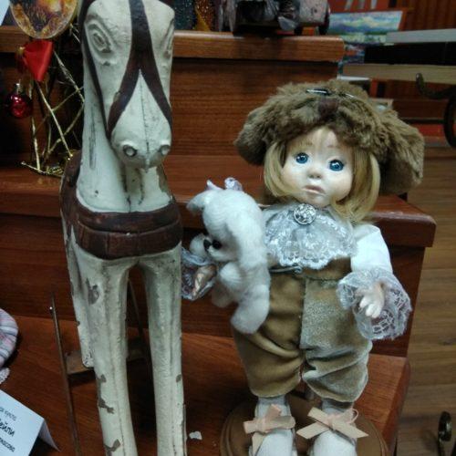 Ванечка, полимерная глина, авторская кукла