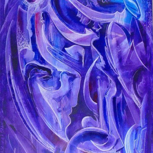 абстракция, интерьерная живопись