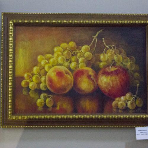 Натюрморт с яблоками. Кравчук