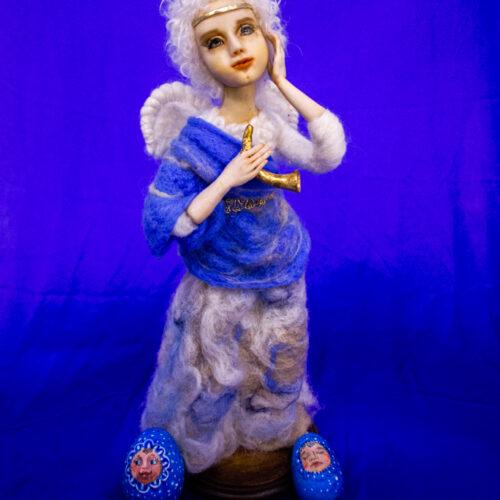 Коллекционная кукла. Эксклюзивная кукла. Куклы из полимерной глины