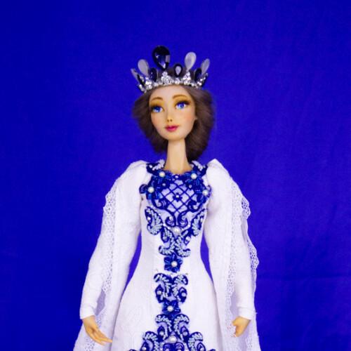 Коллекционная кукла. Эксклюзивная кукла. Куклы из полимерной глины. Подарок для девушки. Отличное украшение для дома