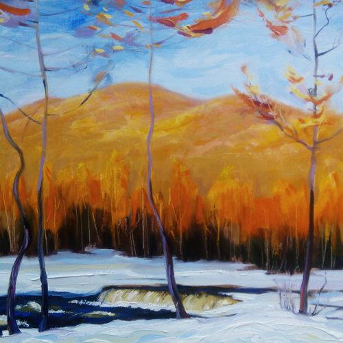 Картина Оранжевая осень