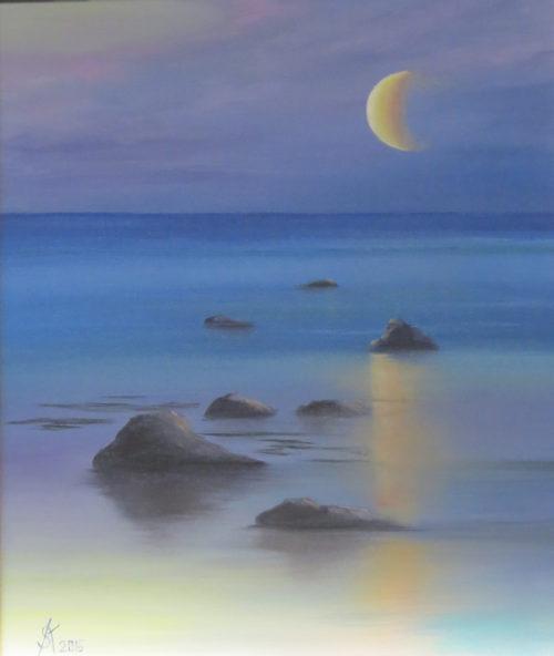 Картина Луна