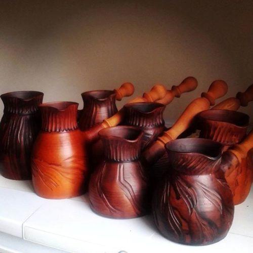 Турка керамика, молочный обжиг, испанская глина