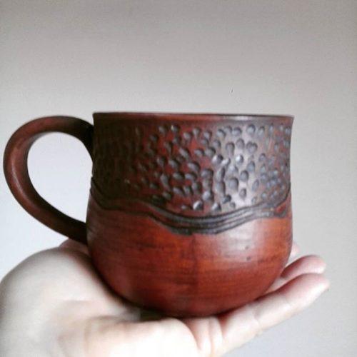 Кружка керамика, ручная работа