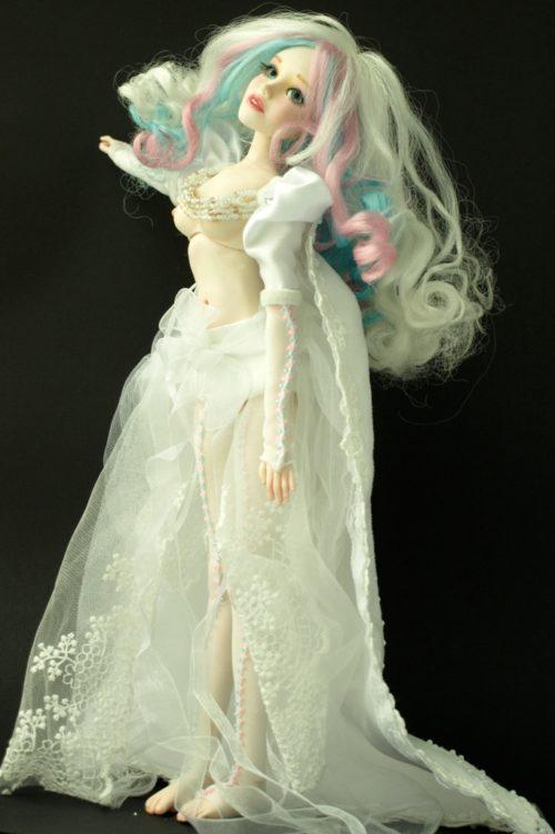 Шарнирная кукла, авторская работа, кукла игровая, кукла интерьерная