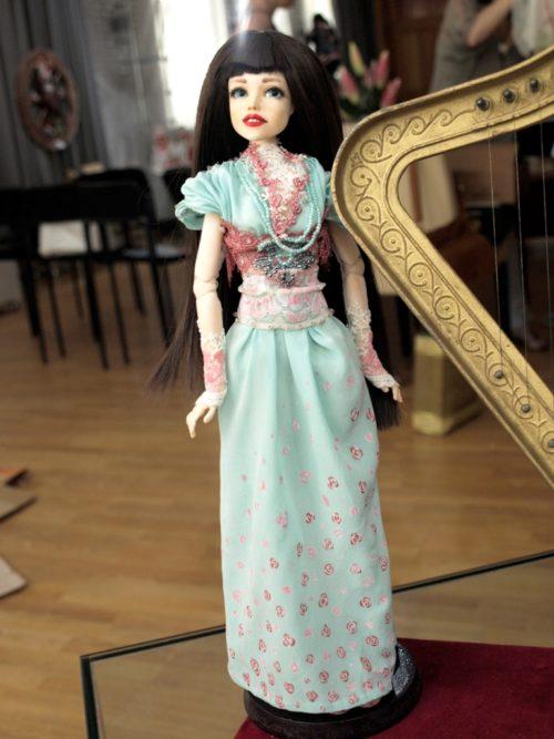Шарнирная кукла, полиуретан,
