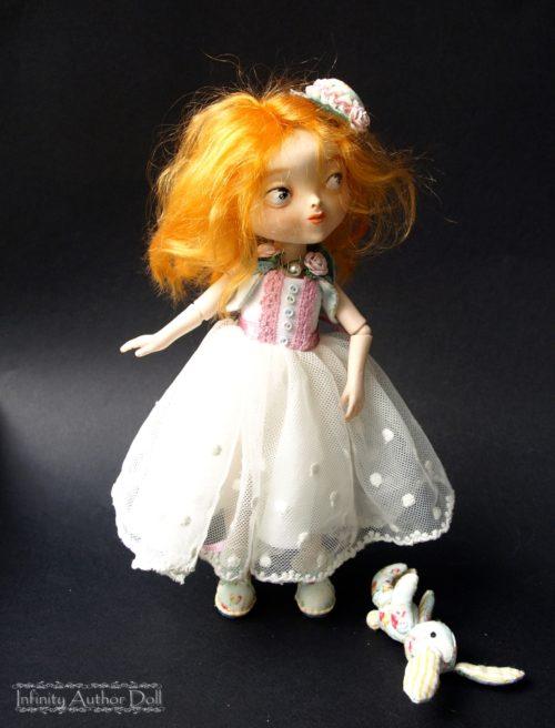 Шарнирная кукла, авторская работа, полиуретан