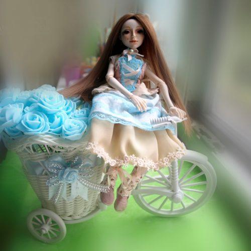 Шарнирная кукла, авторская работа, полиуретан, интерьерная кукла