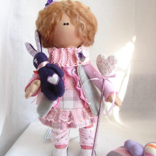 кукла, текстиль, ручная работа
