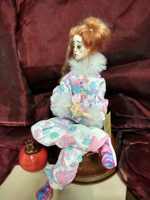 авторская кукла, полимерная глина, ручная работ