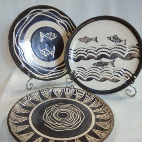 тарелка интерьерная