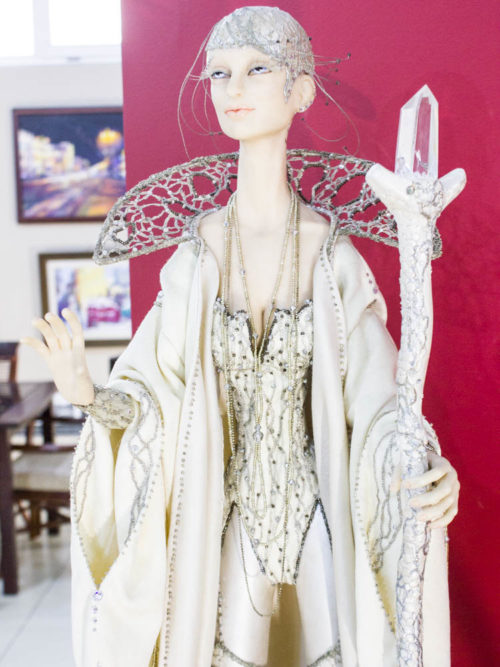 Кукла ручной работа, полимерная глина, авторская кукла, коллекционная кукла, интерьерная кукла, ростовая
