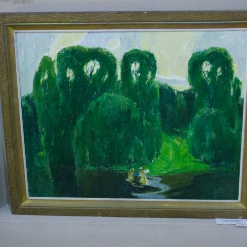 «Купальщицы», художник Носков Николай 1990г