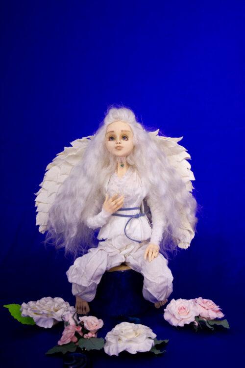 Ангел, подарок со смыслом, купить ангела, авторская кукла, кукла в интерьере, подарок