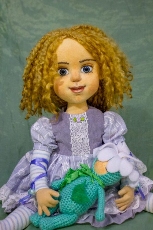 текстильная кукла, будуарная кукла, кукла на 18 лет, кукла интерьерная, подарок