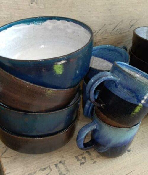 посуда, керамика, чашки, плошки, кружки, посуда в подарок, ручная работа, гончарная мастерская, кружка в подарок
